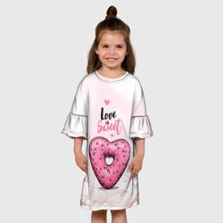 Пончик - сердечко Love