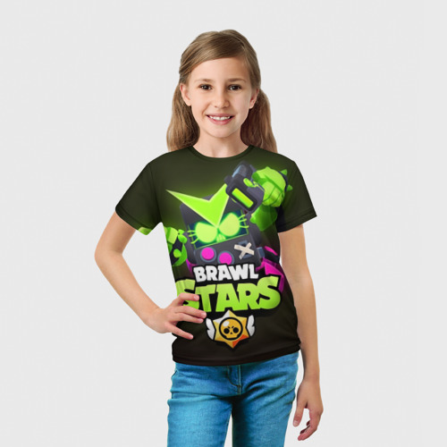 Детская футболка 3D BRAWL STARS VIRUS 8 BIT Фото 01