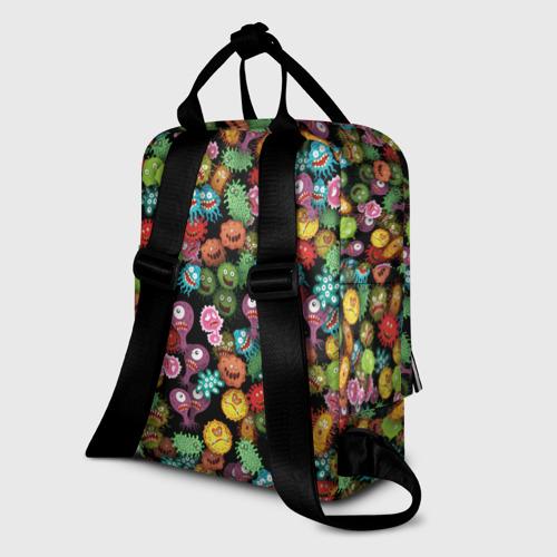 Женский рюкзак 3D Вирусы Фото 01