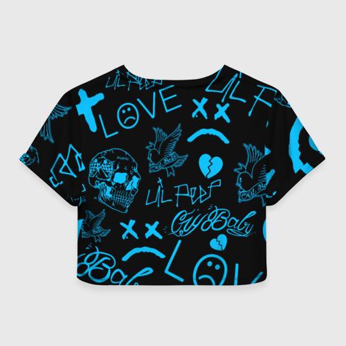 Женская футболка Crop-top 3D Lil Peep Фото 01