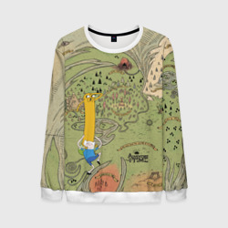 Adventure time. Map