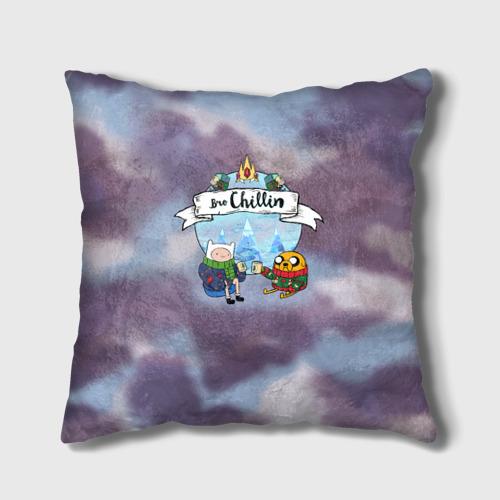 Подушка 3D Фин и Джейк Фото 01