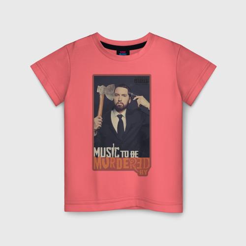 Детская футболка хлопок Eminem 128 фото