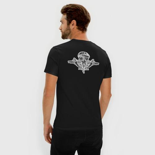 Мужская футболка хлопок Slim ВДВ (двусторонняя) Фото 01