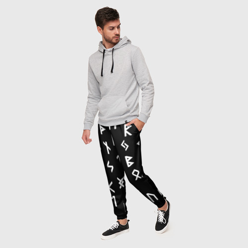 Мужские брюки 3D РУНЫ Фото 01