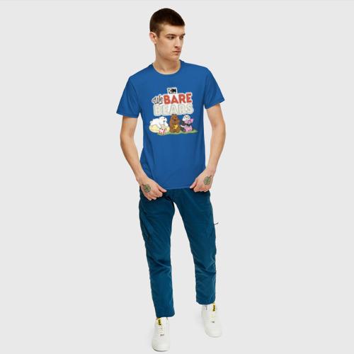 Мужская футболка хлопок Что смотрят медведи Фото 01