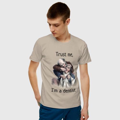 Мужская футболка хлопок Trust me, I'm a dentist Фото 01