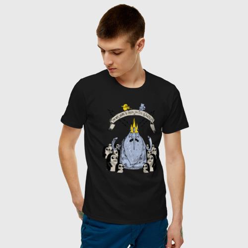 Мужская футболка хлопок Ледяной Король (Ice King) Фото 01