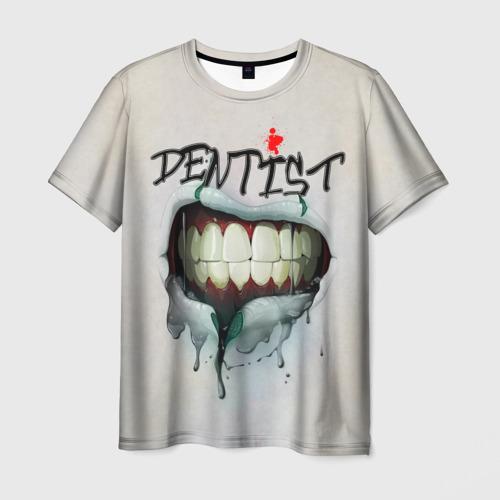 Мужская футболка 3D Dentist Фото 01