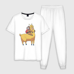 Ленивец и лама