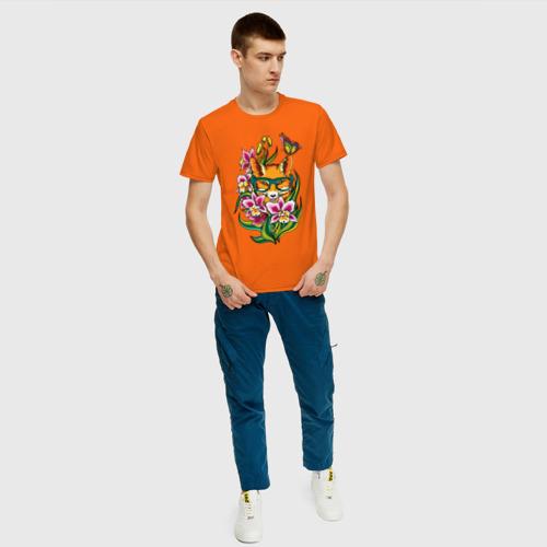Мужская футболка хлопок Лиса Фото 01