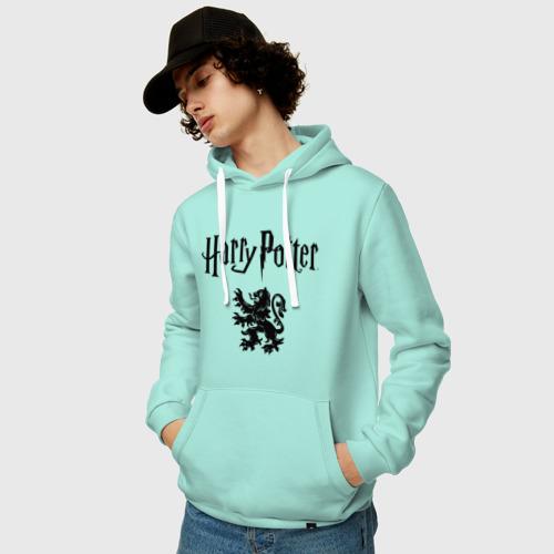 Мужская толстовка хлопок Гарри Поттер Фото 01