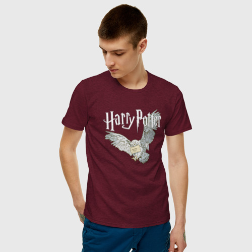 Мужская футболка хлопок Гарри Поттер (Букля) Фото 01