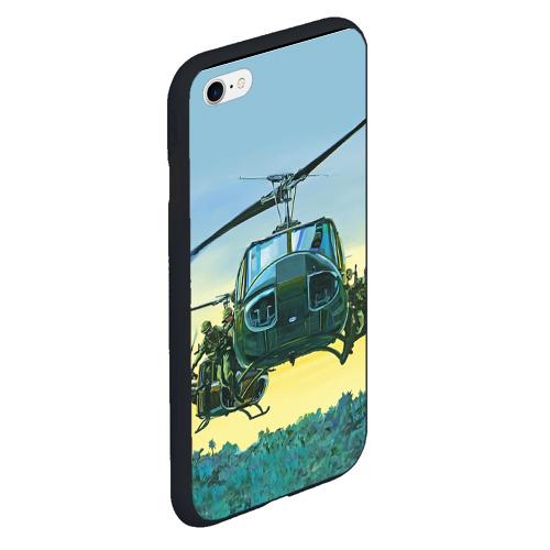 Чехол для iPhone 6Plus/6S Plus матовый Вертолеты Фото 01