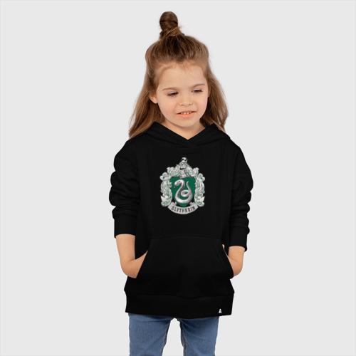 Детская толстовка хлопок Coat of Slytherin Фото 01