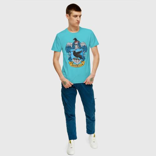 Мужская футболка хлопок Coat of Ravenclaw Фото 01