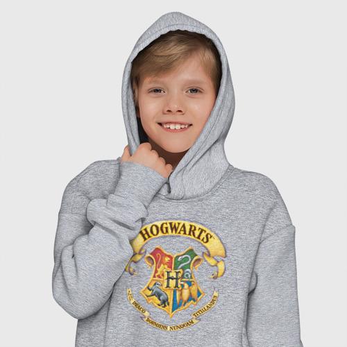 Детское худи Oversize хлопок Coat of Hogwarts Фото 01