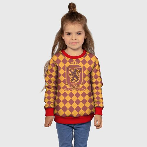 Детский свитшот 3D Coat of Gryffiindor Фото 01