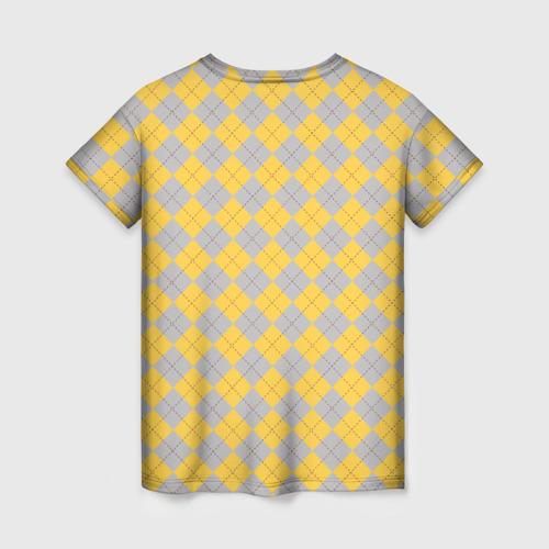 Женская футболка 3D Coat of Hufflepuff Фото 01