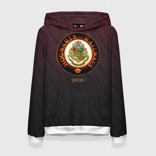 Женская толстовка 3D Coat of Hogwarts Фото 01