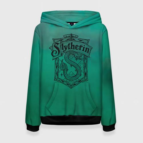 Женская толстовка 3D Coat of Slytherin Фото 01