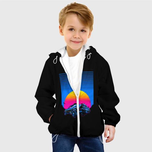 Детская куртка 3D Retro Car Фото 01