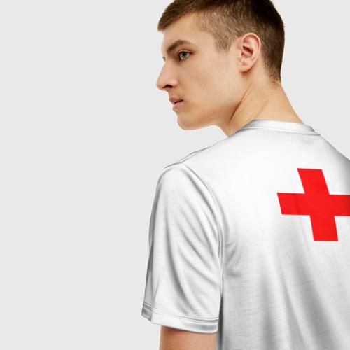 Мужская футболка 3D Дурка Фото 01