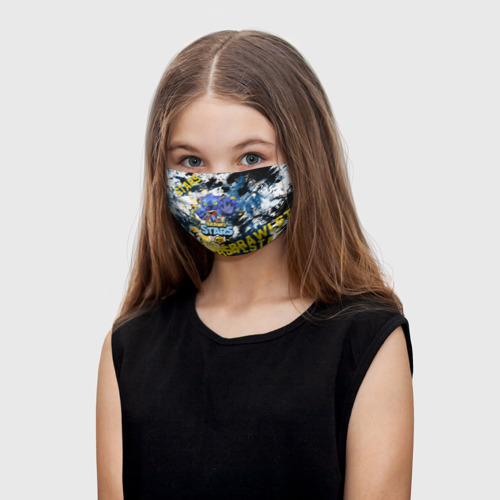 Детская маска (+5 фильтров) Brawl Stars Nita One фото