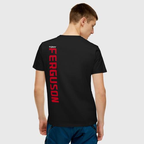 Мужская футболка хлопок Tony Ferguson (+ спина) Фото 01