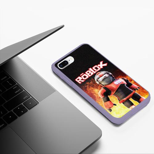 Чехол для iPhone 7Plus/8 Plus матовый ROBLOX Фото 01