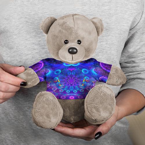 Игрушка Мишка в футболке 3D FRACTAL ILLUSION Фото 01
