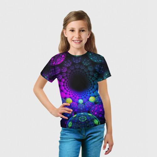 Детская футболка 3D PSY NEON Фото 01