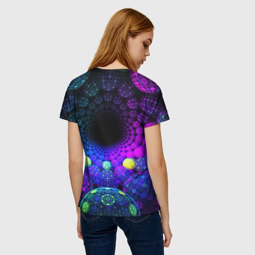 Женская футболка 3D PSY NEON Фото 01