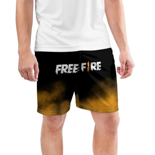 Мужские шорты спортивные Free fire Фото 01