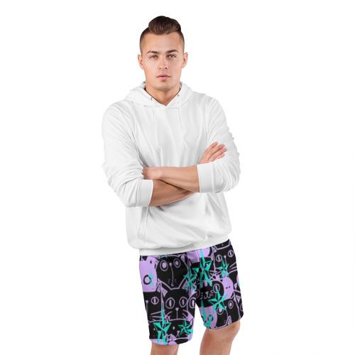 Мужские шорты спортивные КИСЫ Фото 01