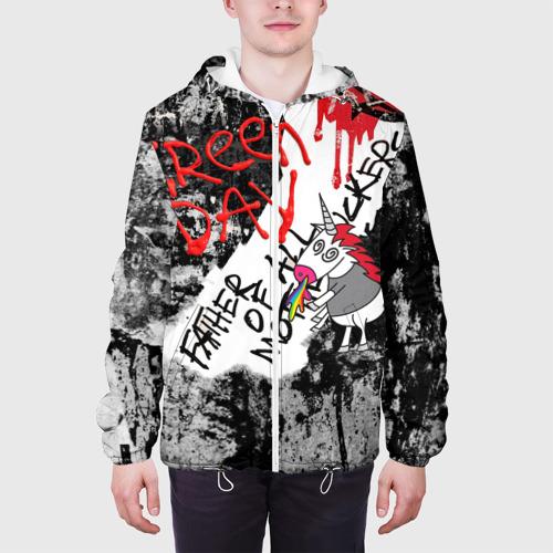 Мужская куртка 3D Green Day - Father of All MF Фото 01