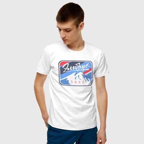 Мужская футболка хлопок Эльбрус 5642 Фото 01
