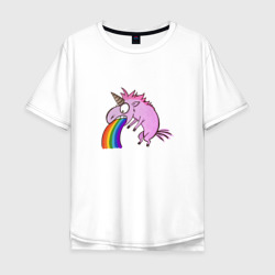 Единорог, блюющий радугой