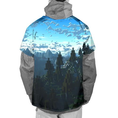 Накидка на куртку 3D Minecraft / Майнкрафт Фото 01