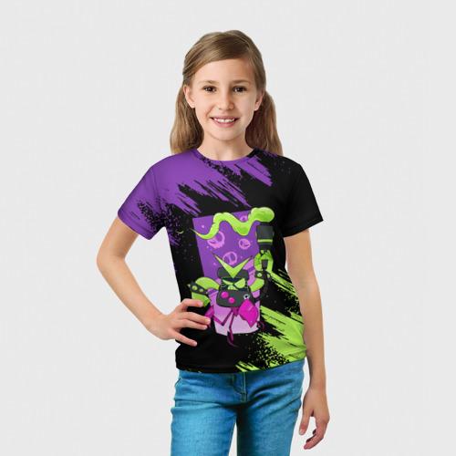 Детская футболка 3D Brawl Stars 8-BIT за  1025 рублей в интернет магазине Принт виды с разных сторон