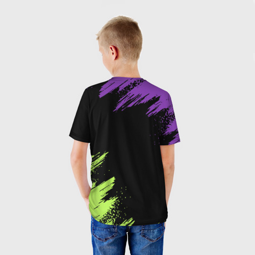 Детская футболка 3D Brawl Stars 8-BIT за  990 рублей в интернет магазине Принт виды с разных сторон