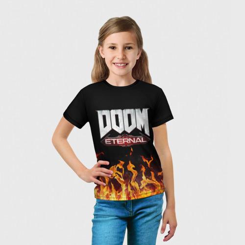 Детская футболка 3D DOOM ETERNAL за  990 рублей в интернет магазине Принт виды с разных сторон