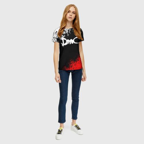 Женская футболка 3D DEVIL MAY CRY (DMC) Фото 01