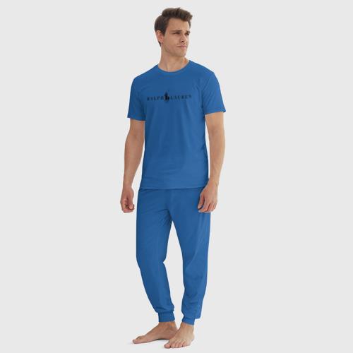 Мужская пижама хлопок Ralph Lauren Фото 01