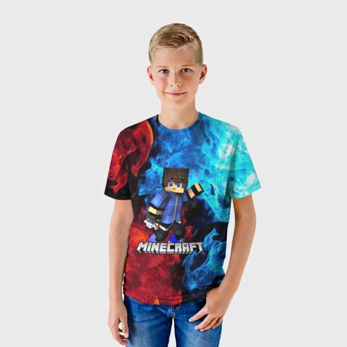 Детская футболка 3D Minecraft / Майнкрафт Фото 01