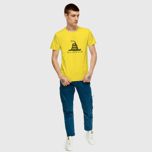 Мужская футболка хлопок Dont tread on me Фото 01