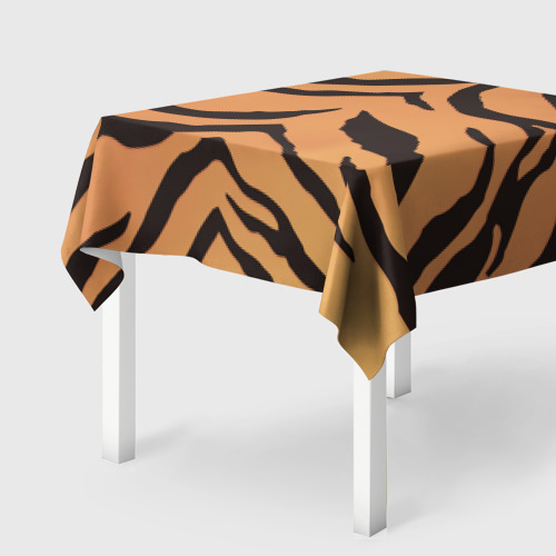 Скатерть 3D Тигриный камуфляж Фото 01