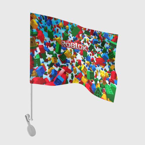 Флаг для автомобиля Roblox Cubes Фото 01
