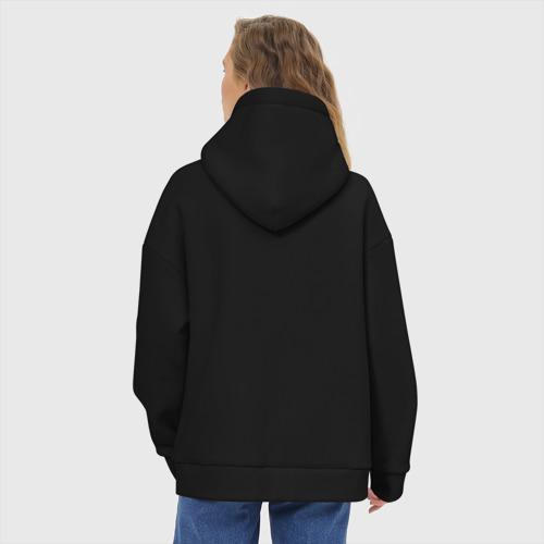 Женское худи Oversize хлопок LIMP BIZKIT LOGO | ЛИМП БИЗКИТ ЛОГО (Z) Фото 01