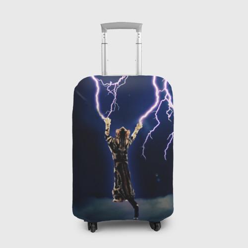 Чехол для чемодана 3D ГРОЗНЫЙ КОШАК. Фото 01